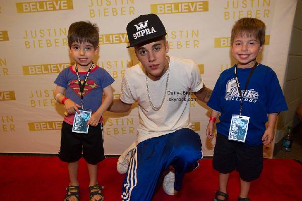 06/07/2013 :  Sur la route du Believe Tour, Justin Bieber s'est arrêté à Omaha, aux Etats-Unis.