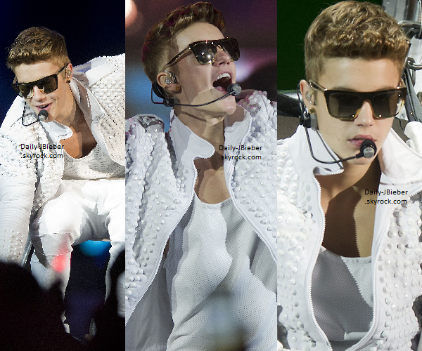 26/07/2013 :  Justin Bieber était à Toronto au Canada, afin de donner un concert pour le BT. Photos fans