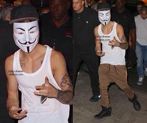 02/08/2013 :  Justin Bieber était sur scène pour un concert à Brooklyn (NYC), dans le cadre du BT.