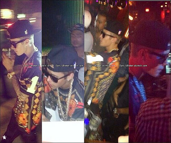 01/09/2013 :  Justin Bieber a été brièvement photographié, quittant son hôtel à Toronto.