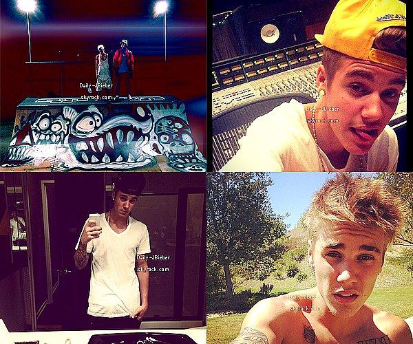 04/09/2013 :  Justin Bieber a été vu saluant ses fans après sa soirée bowling au Pinz, à Studio City. TOP !