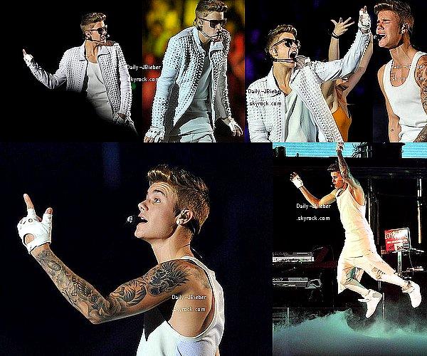 02/12/2013 :  Justin Bieber était à Melbourne en Australie pour un concert de la dernière semaine du BT.