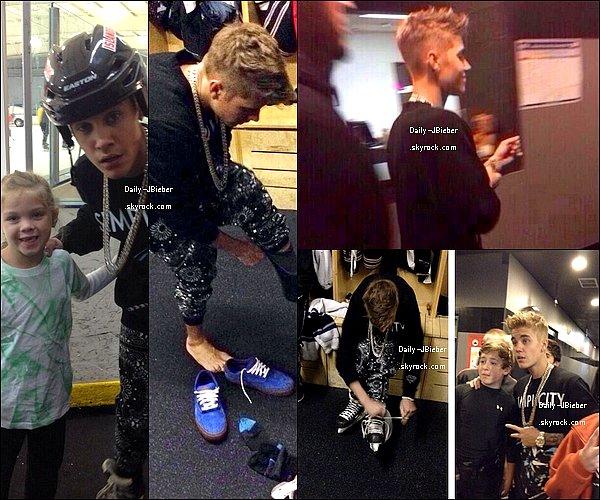 07/02/2014: Justin Bieber a brièvement été vu quittant le centre commercial Phipps Plaza à Atlanta.