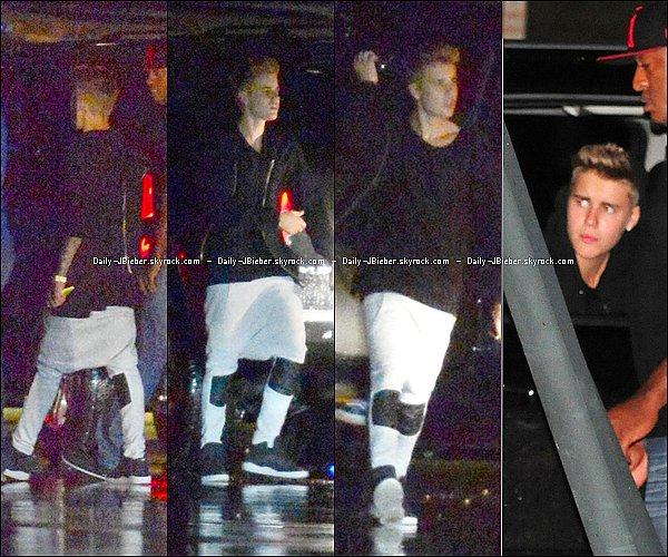 09/03/2014 :  Justin Bieber se produisait sur scène à la soirée de Scooter.