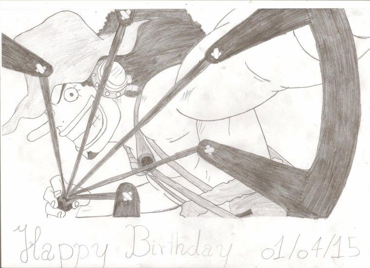 Happy Birthday (Sabo, Usopp, Brook, B.Blanche)