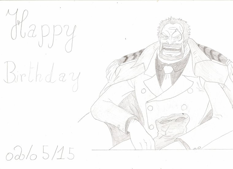 Happy Birthday Garp !