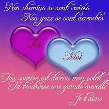Love you mon coeur