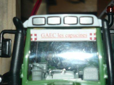 Panneau tracteur