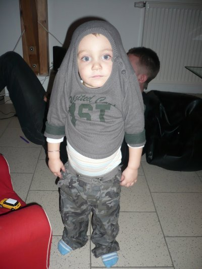 Aaron, mon petit clown ♥