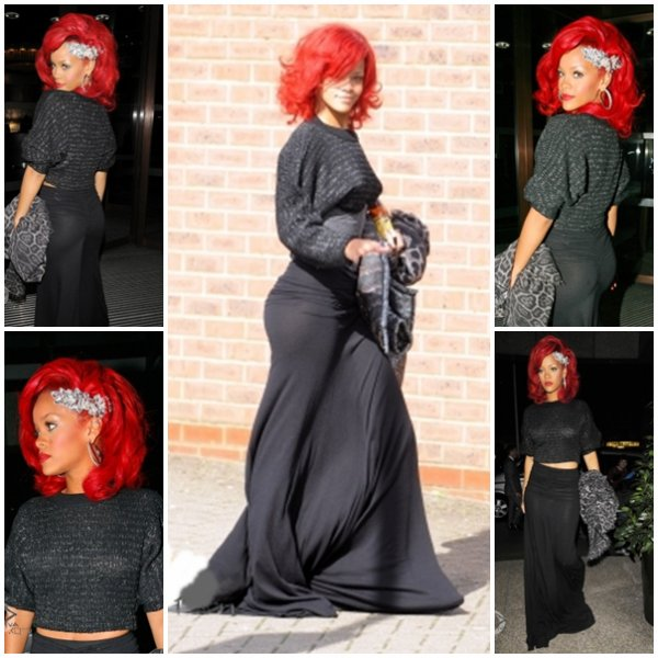 Rihanna à Londres ...