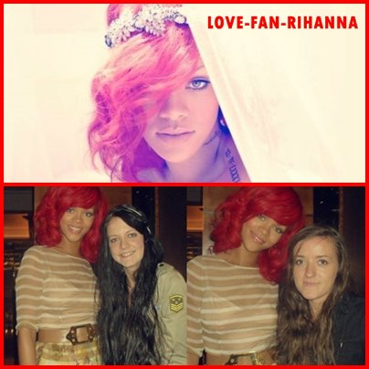 Nouvelle photo de Only Girl + Rihanna avec des Fans .