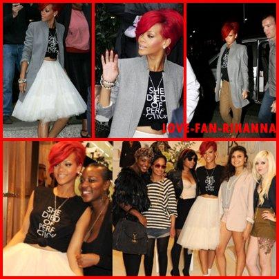 "Rihanna ""Topshop"" concour"