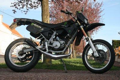 Xp6 noir Modification moteur !