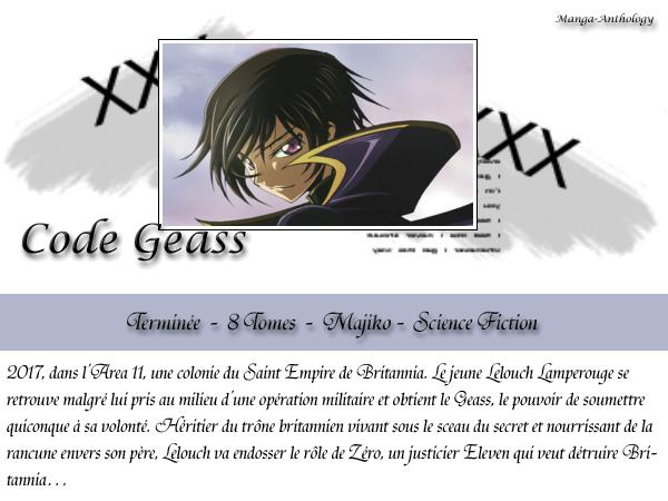 . Code Geass .