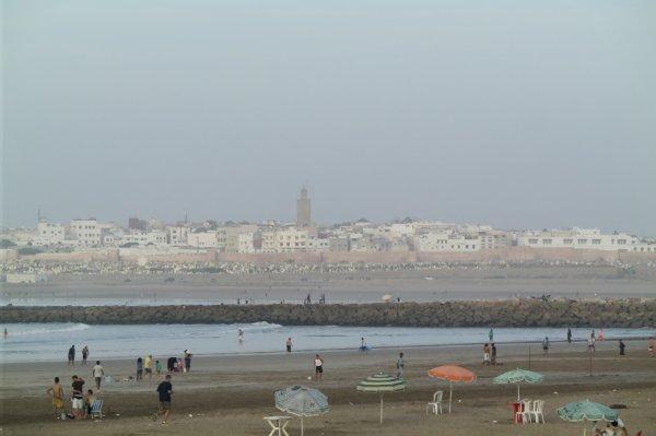 plage de Rabat octobre 2014