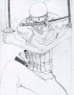 Zoro One Piece Nos Dessins