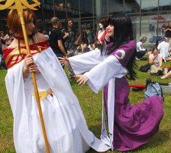 "Cosplay: Sakura Hime ""Tsubasa Reservoir Chronicle"""