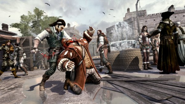 Le multijoueurs d'Assassin's Creed Brotherhood, un vrai coupe gorge !
