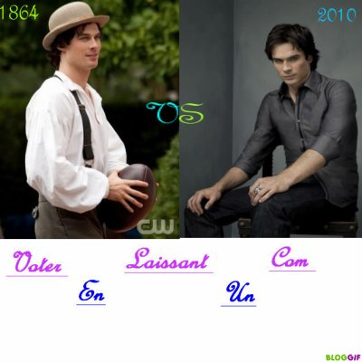 Damon 1864 -VS- Damon 2010