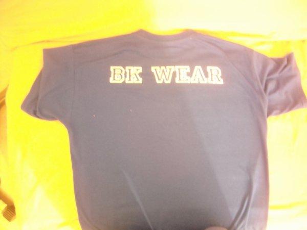 Tee shirt face arriere