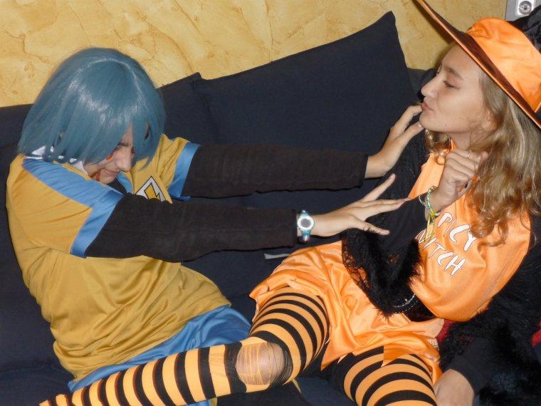 seance photo halloween suite