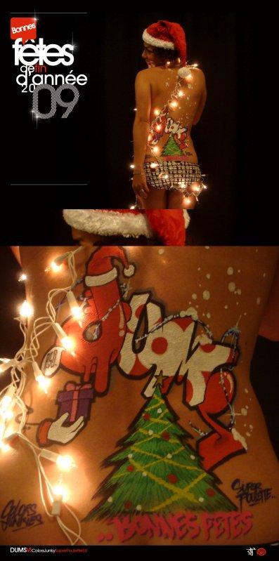 Bonnes fêtes de fin d'année 2009 à tous et à toutes