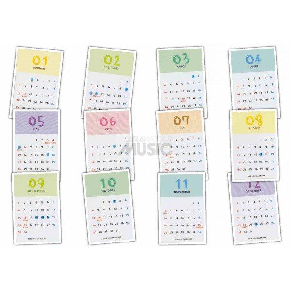 Les calendriers ... Comment bien commencer l'année ;)