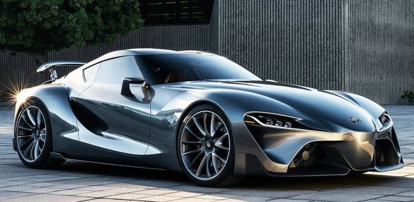 """Depuis des années les fans l'attendait """"la Toyota Supra mk5"""" le concept car ici"""
