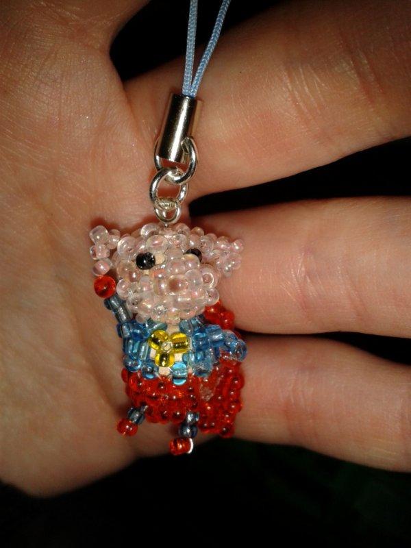 porte-clés super cochon