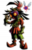 The Legend of Zelda: Majora's Mask = Personnages