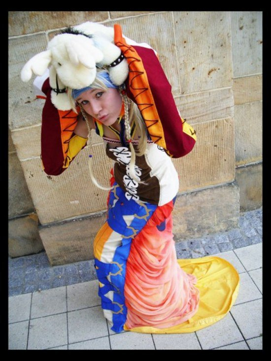cosplays de yrp  version dresseuse ffx-2