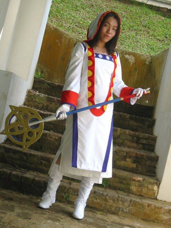 cosplay de yrp version mage blanc