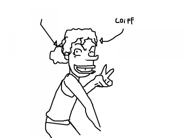 dessin pour une coiffXD