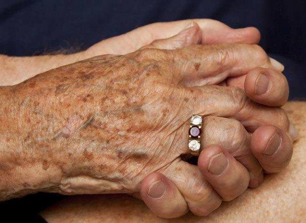 les mains de ma grand mère