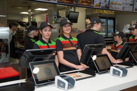 Le premier Burger King de Wallonie inauguré lundi à Charleroi (photos et vidéos)