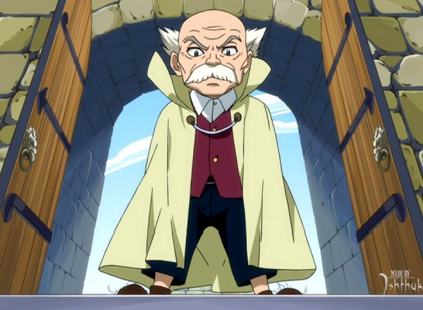 Maître de Fairy Tail : Makarov
