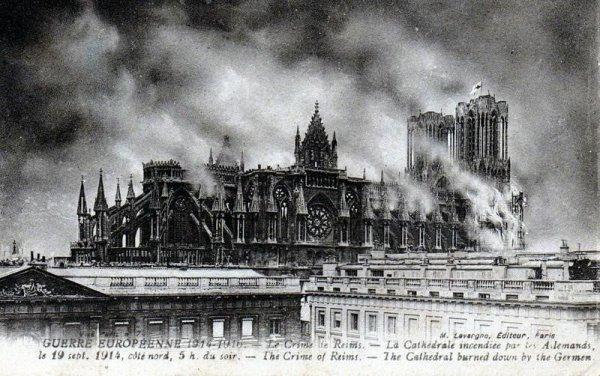 Briquet écrou.. Cathédrale de Reims.