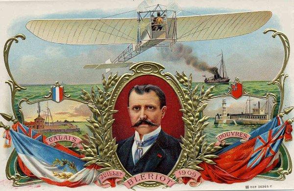 """Briquet """"Louis Blériot"""" et Alsacienne."""