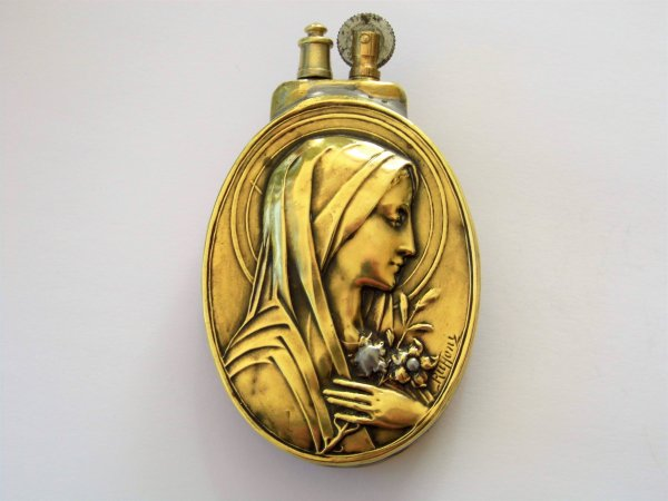 "Briquet artisanal "" Sainte Vierge "".."