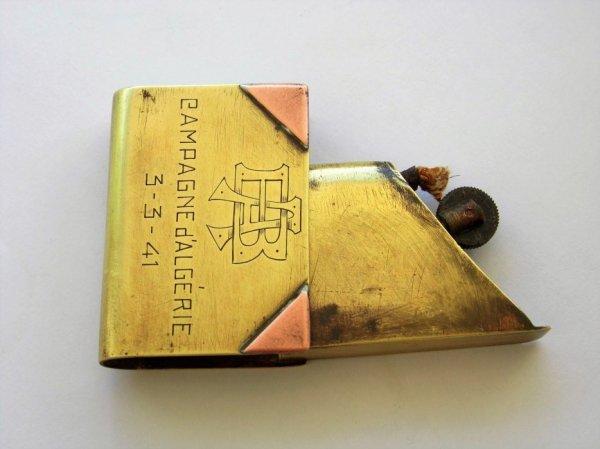 Briquet livre Algérie 1941..