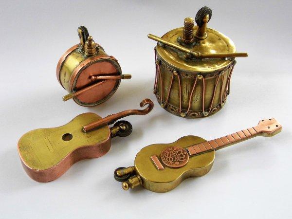 """Briquet artisanal """" Guitare """".."""