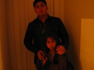 yo y mi sobrina