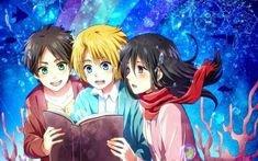 ♥Eren&Mikasa&Armin♥  ~SNK