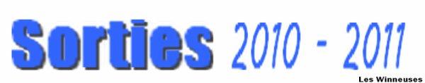 ╚> Les Majorettes de Voves : Nos sorties 2010-2011