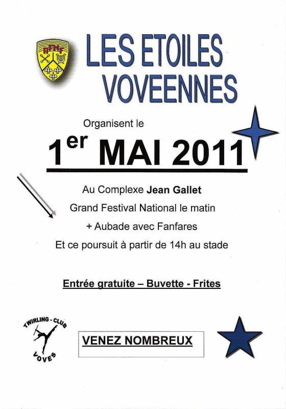 ╚> Les Majorettes de Voves : 1er Mai AFMF à VOVES ( 28 )
