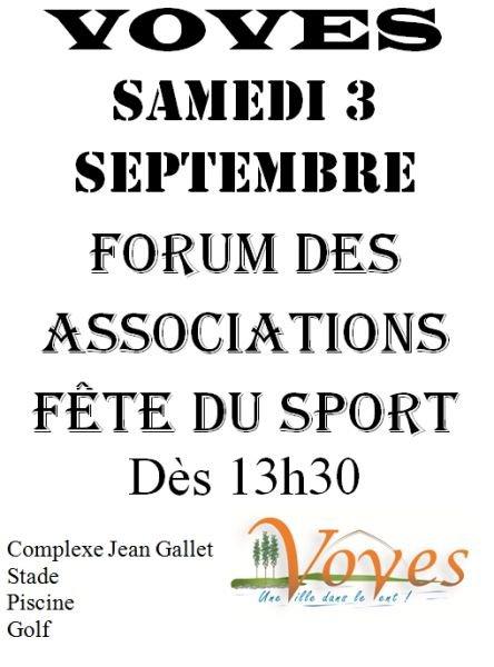 ╚> Les Majorettes de Voves : Forum des Associations à Voves ( 28 )