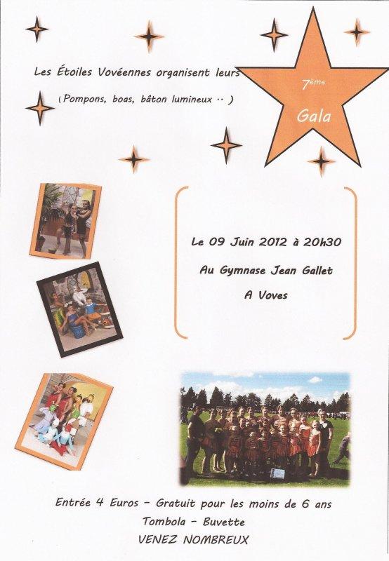 ╚> Les Majorettes de Voves : 7ème Gala des Étoiles Vovéennes