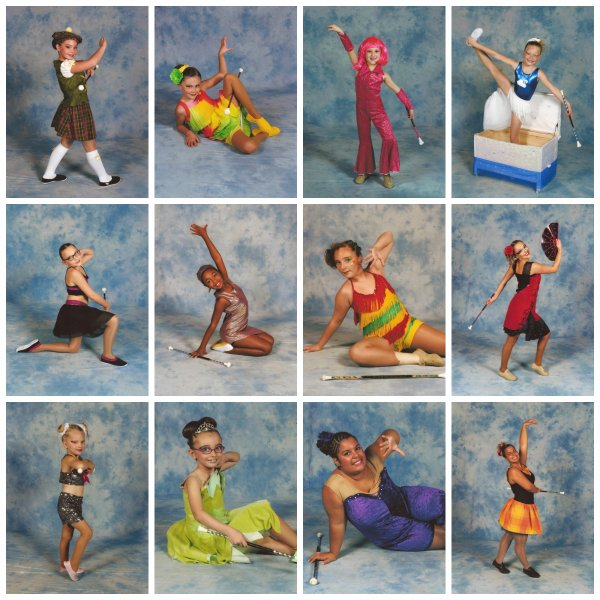 ╚> Les Majorettes de Voves : Individuels 2013-2014 à THORIGNY SUR MARNE (77)