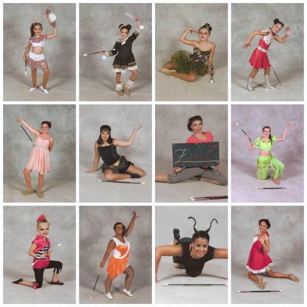 ╚> Les Majorettes de Voves : Individuels 2014-2015 à ST ÉTIENNE DU ROUVRAY (76)