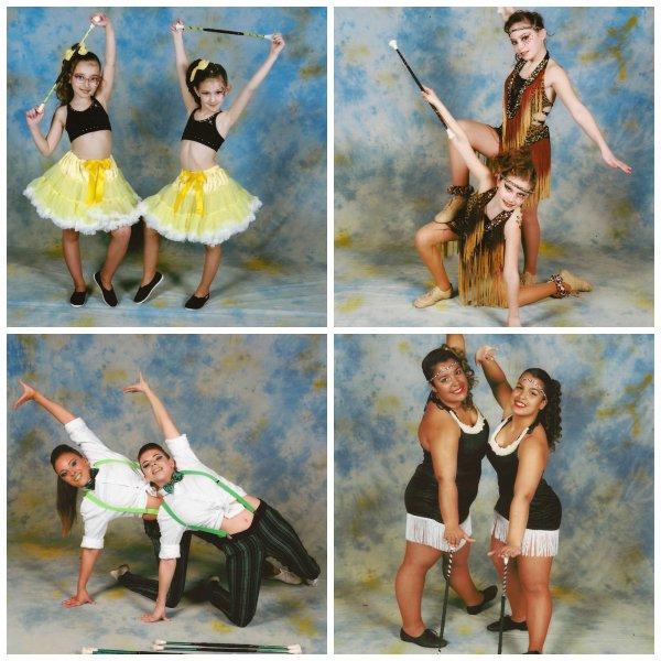╚> Les Majorettes de Voves : Duos 2014-2015 à WATTIGNIES (59)